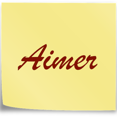 note-aimer